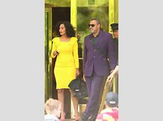 Tracee Ellis Ross and Laurence Fishburne promote new Black
