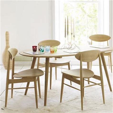 graham and green 50s style dining table and chairs