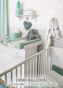 Babyzimmer Mint Grau Babyzimmer In Grau Mint T Nen Bei Fantasyroom