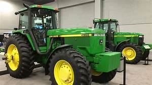 John Deere 4960 And 7810 Tractors With Only 6 And 18 Hours