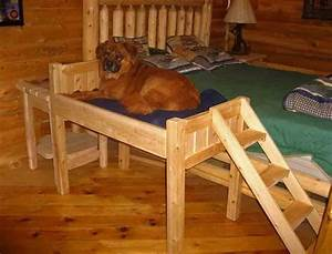 17 best ideas about elevated dog bed on pinterest dog With elevated dog bed with stairs