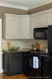 black cabinets in kitchen Black Kitchen Cabinets The Ugly Truth - At Home with The Barkers