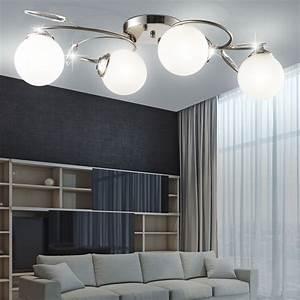 Lampe Für Wohnzimmer : wohnzimmer lampe deckenbeleuchtung deckenleuchte deckenlampe esto cindy 970101 4 ebay ~ Eleganceandgraceweddings.com Haus und Dekorationen