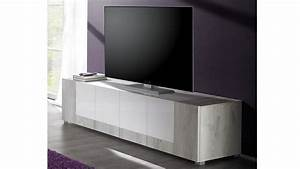 Meuble Tv Arrondi : excellent with meuble tv arrondi bois ~ Teatrodelosmanantiales.com Idées de Décoration