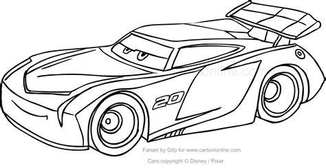 giochi da colorare on line per bambini di 4 anni disegno di jackson di cars da colorare ricerca cars