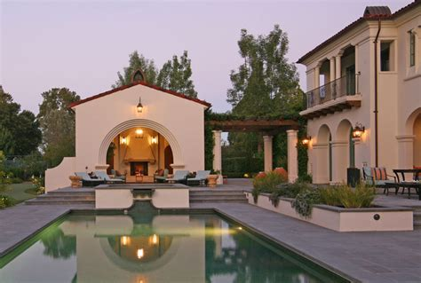 California Mission Style Eclectic-mediterranean-pool