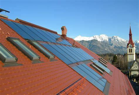 Gas Solar Heizung by Solaranlagen Heizung Wieser