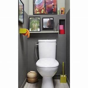 Wc Suspendu Inconvenient : wc cuvette perline club design leroy merlin 119 wc decor pinterest d co toilettes deco ~ Melissatoandfro.com Idées de Décoration