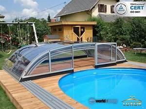 Pool Mit überdachung : angebot pools f r garten swimmingpools fertigschwimmbecken ~ Eleganceandgraceweddings.com Haus und Dekorationen