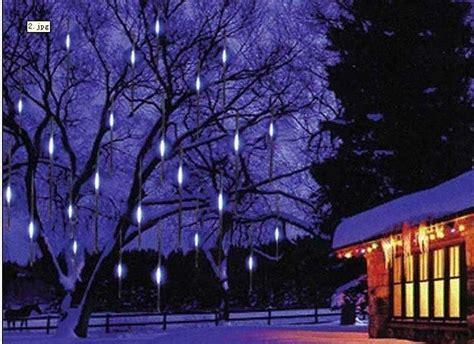 led snowfall christmas lights china led snowfall lights for day use 10pcs 30 cm set china led