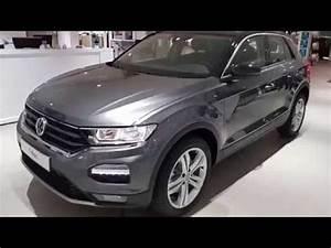 T Roc Gris Indium : volkswagen new t roc new polo 2018 indium grey pure white impression youtube ~ Medecine-chirurgie-esthetiques.com Avis de Voitures