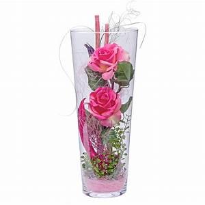 Hohe Pflanzkübel Für Rosen : deko vase rosen rosa versandkostenfrei online bestellen ~ Whattoseeinmadrid.com Haus und Dekorationen