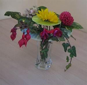 chapeau en art floral