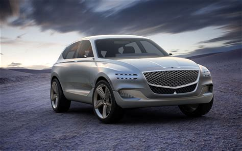Gv80 Genesis Fuel Concept Suv Revealed At New York