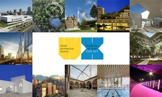 Award Entries For The World Architecture Festival Are