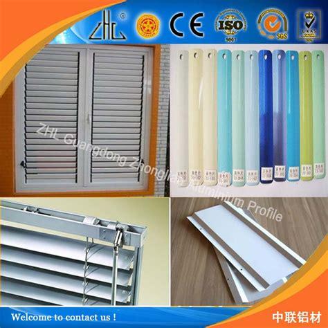 sun shade aluminium louvers oem vertical