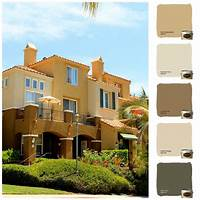 painting color schemes Color Scheme #1 that we did at Corte Melina out in Rancho ...