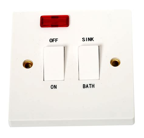 dual immersion switch with indicator 20 switches sockets topline ie