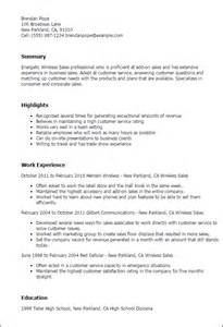 resume for cell phone sales representative professional wireless sales templates to showcase your talent myperfectresume