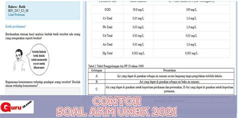 Kunci dan perangkat bahasa inggris smp kelas 9. 23+ Contoh Soal Akm Untuk Guru - Kumpulan Contoh Soal