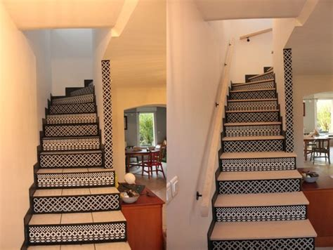 relooking escalier et portes d acc 232 s