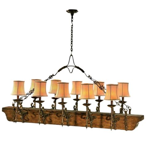 iron and wood chandelier 187 northgate gallery antiques