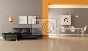 Papier Peint Moderne Salon : papier peint modern living room meubles ~ Melissatoandfro.com Idées de Décoration