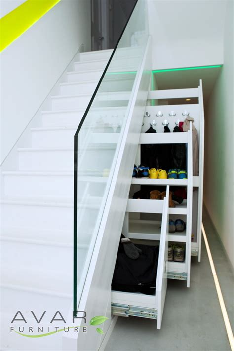 Understairs Cupboard Storage by ƹӝʒ Stairs Storage Ideas Gallery 6