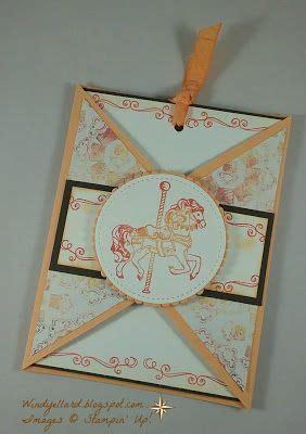 windys wonderful creations carousel  card stampin