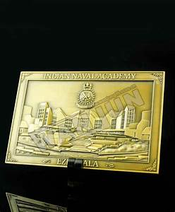 Square AI carving plating gold 3D medal - Professional OEM ...