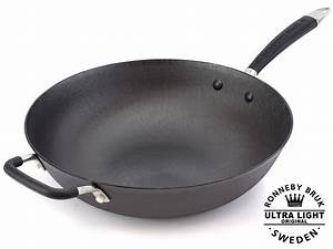 Wok Gusseisen Kaufen : ultra leichter gusseisen wok 34 cm online kaufen bei ~ Markanthonyermac.com Haus und Dekorationen