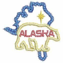 Neon Alaska Embroidery Designs Machine Embroidery Designs