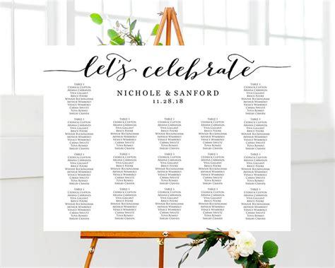 Wedding Seating Chart Template Wedding Seating Plan Templates 183 Wedding Templates And