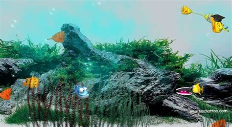 fond d ecran aquarium gratuit anime desktop background fond d 233 cran anim 233 et sonore gratuit