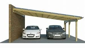 Holzanbau Am Haus : carport carport g nstig im konfigurator mit ~ Lizthompson.info Haus und Dekorationen