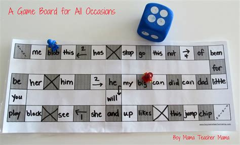 Teacher Mama A Game Board For All Occasions Boy Mama