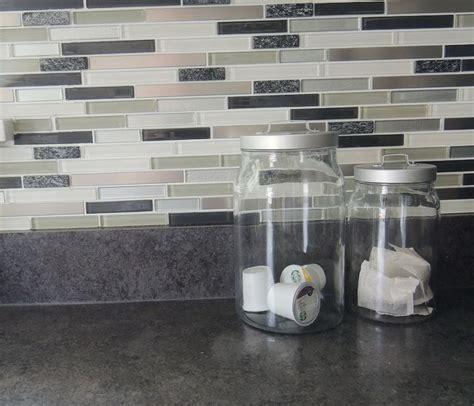 peel and stick backsplashes for kitchens self stick kitchen backsplash tiles smart kitchen
