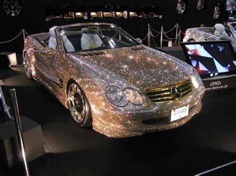 Luxurius Car : Luxury Crystal Benz At Tokyo Auto Salon 2009