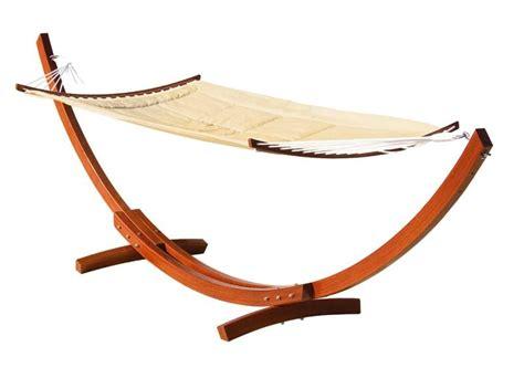 amaca da giardino con supporto amaca con supporto legno lamacchia mobili da giardino