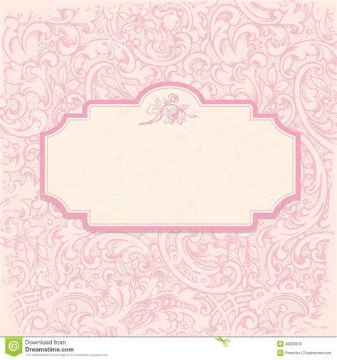 elegant romantic invitation royalty  stock
