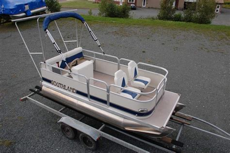 electric pontoon boats images