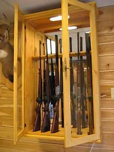 Armoire A Fusil En Bois : 38 best armoire a fusil images on pinterest gun safes woodworking and furniture ~ Melissatoandfro.com Idées de Décoration
