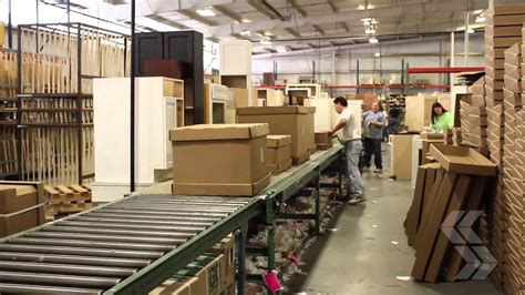 assembly  shipping deerfield assembled cabinets youtube
