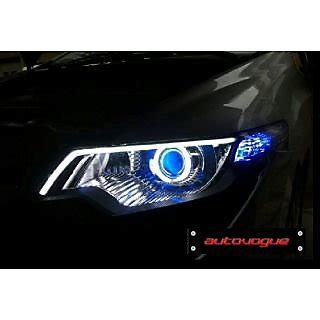 Audi Q3 Modification by Universal Audi Q3 Style Neon For Car