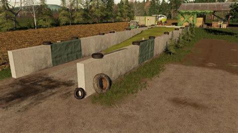 Fs19 Small Bunker Silo Set V12 Simulator Games Mods