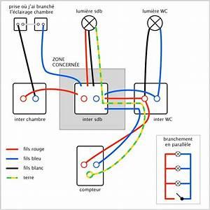 schema de principe electrique maison With schema installation electrique maison