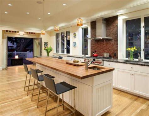 cheap kitchen islands with breakfast bar découvrez nos 84 jolies propositions pour cuisine avec bar