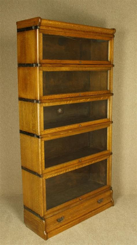 Antique Bookcases Uk by Oak Globe Wernicke Sectional Bookcase 227802