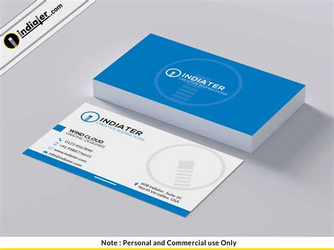 Free Online Business Card Psd Template