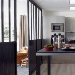 cloison amovible atelier noir h 240 x l 80 cm leroy merlin